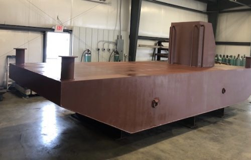 Springers Welding Works Barge Fabrication